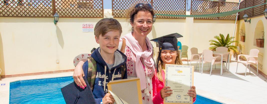 Certificats de cours du programme familial