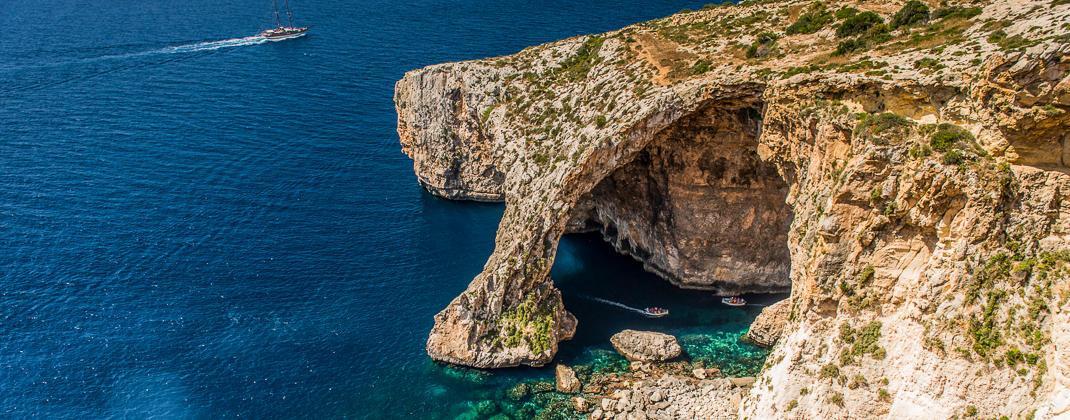 Blue Grotto voyage en bateau