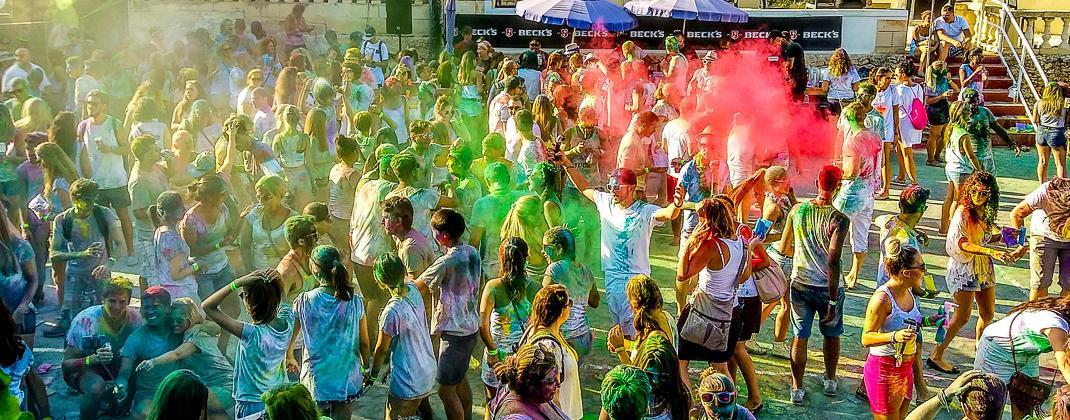 Holi Fête de couleur