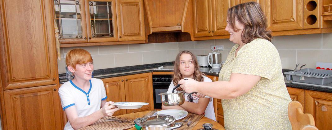 Famille d'accueil pour les jeunes