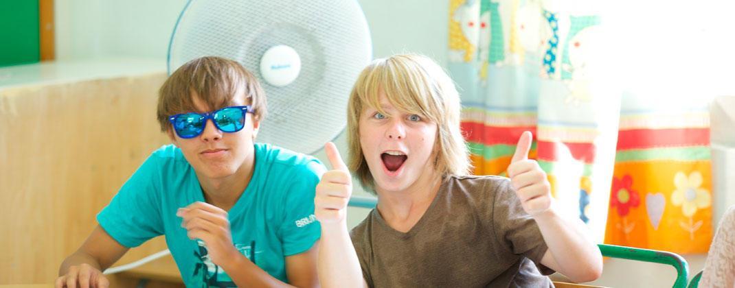 Cours d'anglais pour jeunes