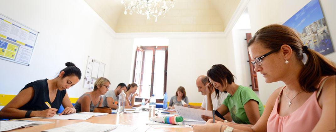École de langue Malte