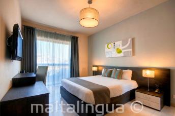 Chambre d'ami de l'hôtel Argento, Malte