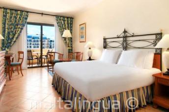 Chambre à l'hôtel Hilton à Malta