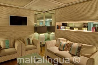 Salle de repos à l'hôtel Juliani