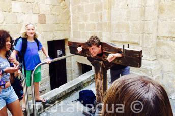 Un étudiant enfermé à Mdina, Malte