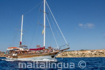 Le bateau de Maltalingua