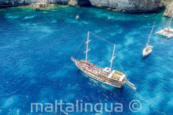 Voyage de l'école à Crystal Bay, Malte