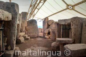 Les Temples préhistoriques à Hagar Qim
