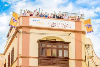 École de langue anglaise à St Julians, Malte.
