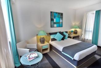 Chambre de l'hôtel Juliani, St Julians, Malte