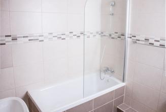 Salle de bains de l'appartement de l'école à St Julians
