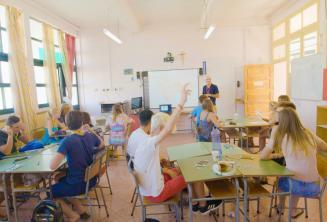 Classe de l'école d'été