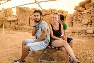 Visite guidée des anciens temples de Malte