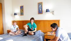 -10% de réduction pour la résidence junior d'été