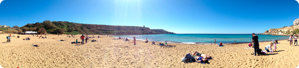 Golden Bay Malta 17.02.14